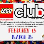Lego Club!!!