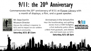 Schedule of 9.11 20th Anniversary events.
