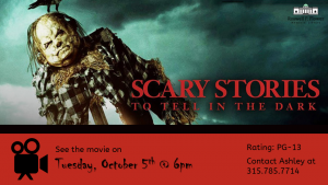 Movie: Scary Stories to Tell in the Dark flyer.